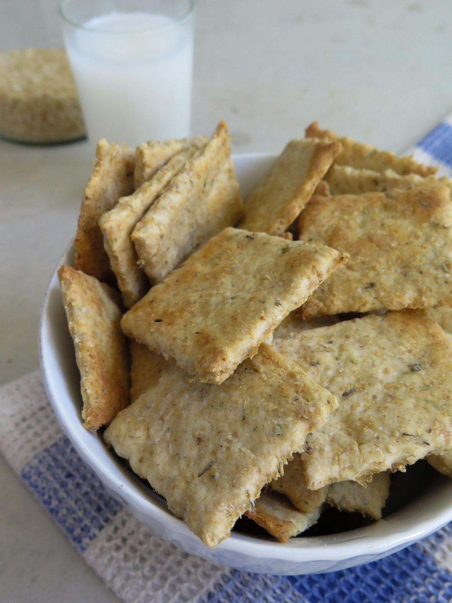 Reis-Reste Cracker