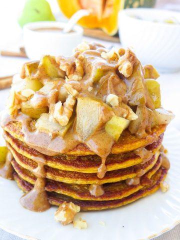 Kuerbis Pancakes Beitragsbild