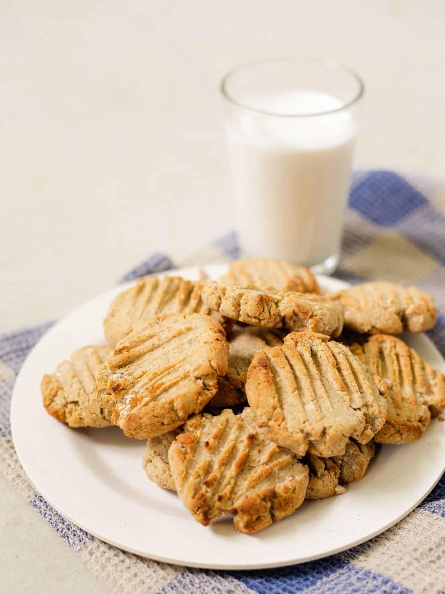 Tahin Mandeltrester Kekse